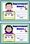 Student Improvement Awards and Certificates