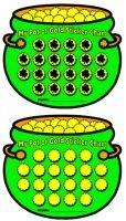St. Patrick's Day Pot of Gold Sticker Charts