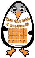 Penguin Chill Out With A Good Book Reading Sticker Chart