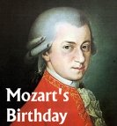 Wolfgang Amadeus Mozart Birthday December 5 Lesson Plans and Writing Prompt