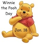Winnie the Pooh Day January 18