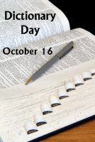 Dictionary Day October 16 Lesson Plans and Ideas For Writing Prompts