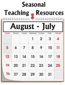Season Teaching Resources Calendar