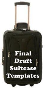 Suitcase Book Report Final Draft Templates