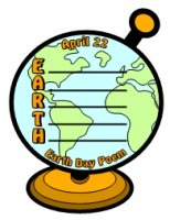 Earth Day Poetry Templates and Worksheets