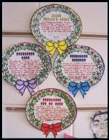Christmas Carol Wreath Projects