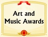 Go To Art and Music Award Certificates Page