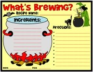 What's Brewing Halloween Worksheet Printable Worksheet