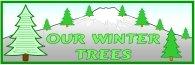 Winter Tree Poems Bulletin Board Display Banner