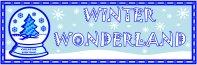 Winter Wonderland Creative Writing Bulletin Board Display Banner