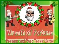 Christmas and Santa Verbs Powerpoint Lesson Plans