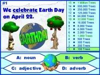 Earth Day Grammar Parts of Speech Powerpoint Presentation