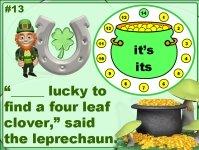 St. Patrick's Day Grammar Powerpoint Presentation Lesson Plans