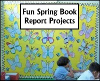 Fun Spring Book Report Project Ideas