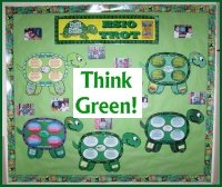 Think Green ESIO TROT Bulletin Board