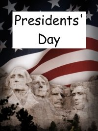Presidents Day February Lincoln and Washington