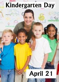 Kindergarten Day April 21