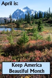 April Keep America Beautiful Month Lesson Plans For Teachers