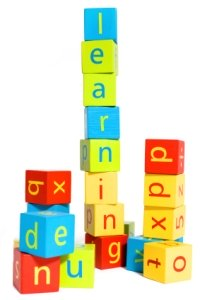 Learning Spelling Blocks