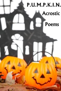 Ideas for Halloween Poems and Poetry Teaching Resources