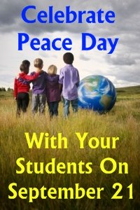 World Peace Day September 21 Lesson Plans and Activities for Elementary School Students