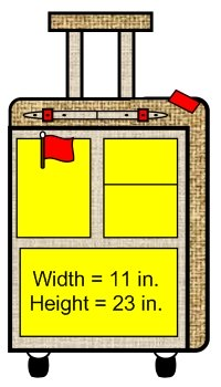 Main Character Suitcase Book Report Projects Templates and Worksheets Measurements