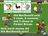 Math Word Problems Powerpoint Presentation Farm Theme