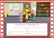 Good Apple Student Awards and Certificates