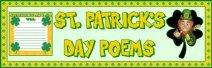 St. Patrick's Day Poems Bulletin Board Display Banner