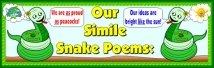 Writing Similes Bulletin Board Display Banner