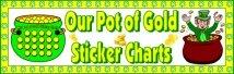 St. Patrick's Day Pot of Gold Bulletin Board Display Banner