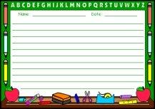 Chalkboard Printable Worksheet