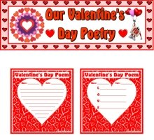 Valentine's Day Poems, Lesson Plans, and Worksheets