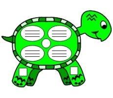 Turtle Shaped Book Report Projects For Elementary School Students