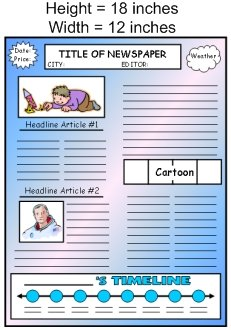 Biography Book Report Projects Templates and Worksheets Measurements