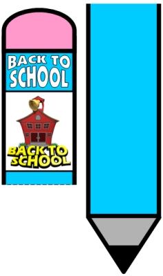 Back to School Bulletin Board Pencil Display Ideas