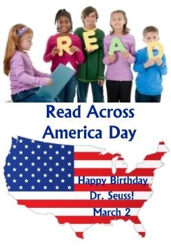 Read Across America Day Dr. Seuss Birthday March 2