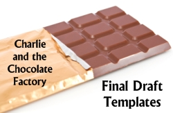 Charlie and the Chocolate Factory Final Draft Character Project Templates