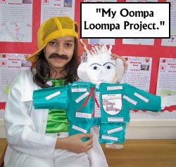 Oompa Loompa Project Charlie and the Chocolate Factory Roald Dahl