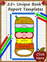 Templates For Fun Book Report Projects For Elementary School Teachers