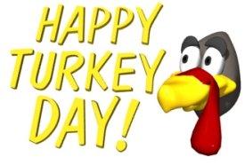 Happy Turkey Day Thanksgiving Graphic