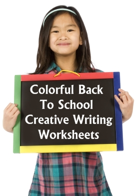 Colorful Printable Worksheets for Back to School