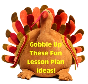 Thanksgiving, Fall, and Autumn Lesson Plans and Activities