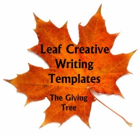 The Giving Tree Shel Silverstein Leaf Shaped Creative Writing Templates