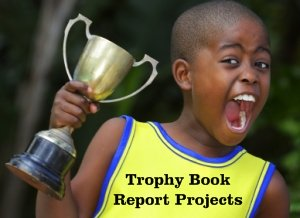 Fun TBook Report Projects and Templates Boy Elementary School Student