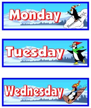 January Printable Worksheets Calendar