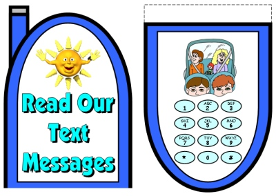 Text Messages Creative Writing Assignment