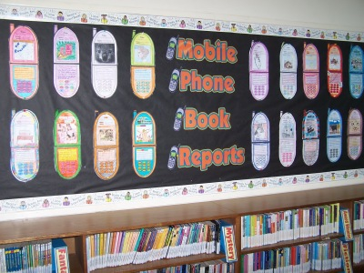 Fun Book Report Projects Ideas Cell Phone Templates