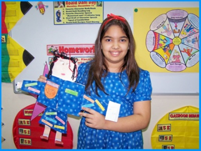 Matilda by Roald Dahl Main Character Book Report Project