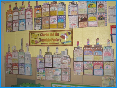 Charlie and the Chocolate Factory by Roald Dahl Group Projects